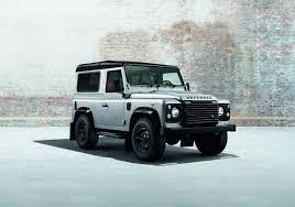 black land rover land rover defender black u0026 silver specials set for geneva motor show