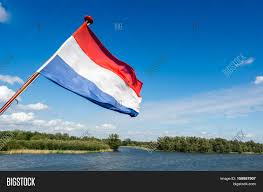 dutch flag waving on stern tour image u0026 photo bigstock