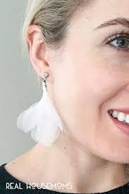diy drop earrings diy j crew petal drop earrings real housemoms