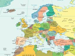 Map Of Europe 1500 by Maps Of Europe Carte Monde Org