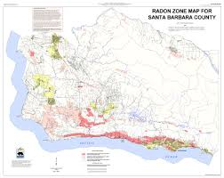 Ventura County Map Radon At Tahoe Radon Maps