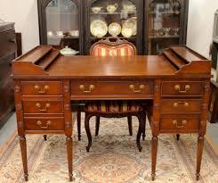 Partner Desk With Hutch Found In Ithaca George Washington Partner Desk Sold