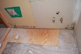 Water Damaged Laminate Flooring Replacing Subfloor Damaged By Water Pro Construction Guide