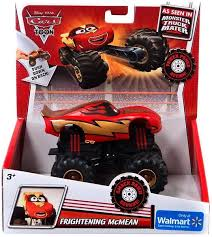 disney cars cars toon monster trucks frightening mcmean exclusive