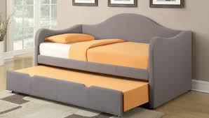 daybed modern grays daybed with white upholstery covered with