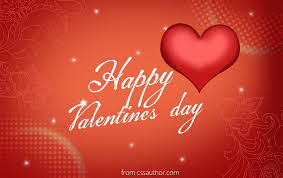 free download high quality happy valentines day greeting card psd