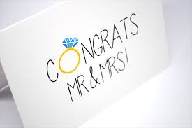 congrats wedding card wedding card congratulations congrats mr mrs wed041