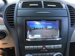 nissan sentra apple carplay carplay installs pioneer avic f77dab in a mercedes slk350