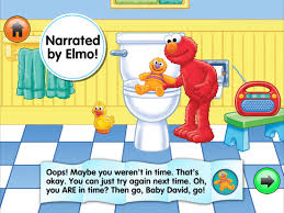 Elmo Bathroom Accessories Potty Time With Elmo On The App Store