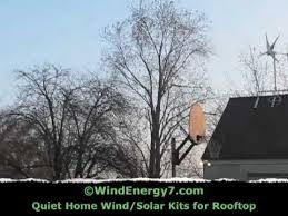 Small Wind Turbines For Home - wind turbine noise youtube