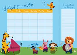 tutorial design a timetable with bookmark saxoprint blog uk