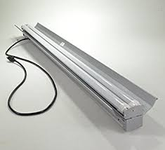 lights of america led shop light four bros led utility shoplight 36 watt 4200 lumen 48 4 feet with