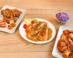 cuisine jamaicaine การจ ดส งอาหารจากร าน les saveurs d aubin toulouse uber eats