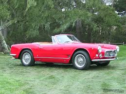 maserati truck red interior 1960 1964 maserati 3500 gt spyder maserati supercars net
