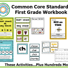common core worksheets for first grade worksheets