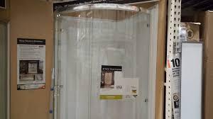 Bathroom Doors At Home Depot Bathroom Fantastic Home Depot Shower Enclosures For Modern