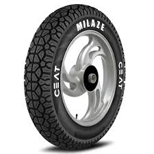 ceat milaze 90 100 10 53j tubeless scooter tyre front or rear