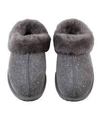 ugg moraene slippers sale lyst ugg moraene constellation embellished slipper in gray