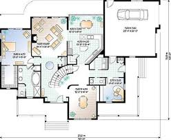 layout of a country house house best art