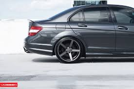 bagged mercedes e class mercedes benz w204 c6 3 amg vossen wheels stylish autos