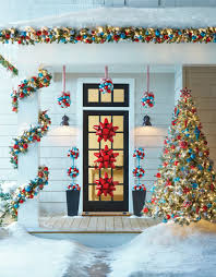 front porch christmas decorations front porch christmas tree and decorations pictures photos and