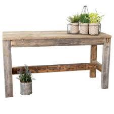 small wood bench wayfair