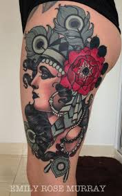 side of head tattoo best 20 upper thigh tattoos ideas on pinterest women thigh