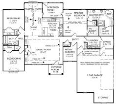 2000 sq ft ranch house plans country house plan with 3 bedrooms and 2 5 baths plan 5759