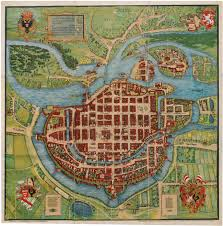 Breslau Germany Map by