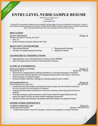 Entry Level Nurse Resume Samples by Graduate Nurse Resume Samples Registered Nurse Resume Examples