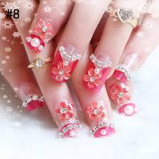 diamond nail art youtube pink nail designs with diamonds best