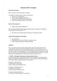 business plan sample pdf sop example executive summary template