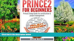 buy bryan mathis prince2 for beginners prince2 self study for