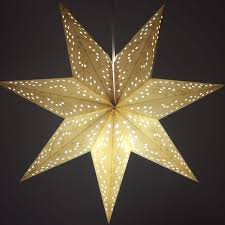 Party Chandelier Decoration Indian Style Origami Star Shade Lantern For Bar Decorative Table
