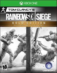 siege microsoft usa tom clancy s rainbow six siege gold edition xbox one ebay
