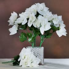 wedding bouquets cheap 252 silk open roses wedding flowers bouquets wholesale supply