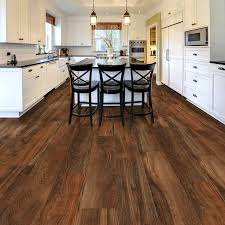 Resilient Vinyl Plank Flooring Trafficmaster Ultra Wide 8 7 In X 47 6 In Hickory