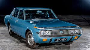lexus vs toyota crown rare 1972 toyota crown revived reunited with family