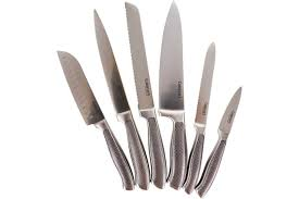 Kitchen Knives With Sheaths Cuisinart Classic German Steel Knife Blade 6 Piece Cutlery Set