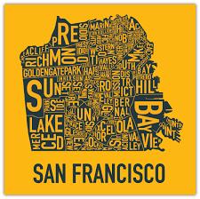 san francisco map painting san francisco history podcast sparkletack