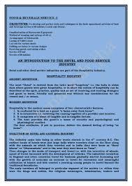 f u0026 b service introduction