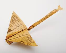 coupe papier design one guy spent the 1960s u0026 70s collecting paper airplanes off the