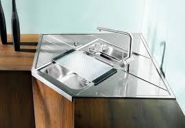 cuisine avec evier d angle evier d angle 1 cuve blancoaxis 9 e m 900 x 900 avec égouttoirs et