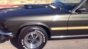 1969 Black Mustang 1969 Mach 1 Mustang Youtube
