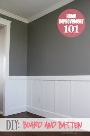 board and batten wall diy batten board and wainscoting
