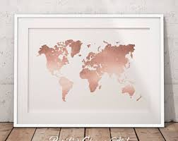 Rose Gold Home Decor by Rose Gold Decor Etsy