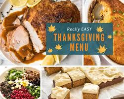 Soul Food Thanksgiving Dinner Menu Easy Thanksgiving Menus Recipetin Eats