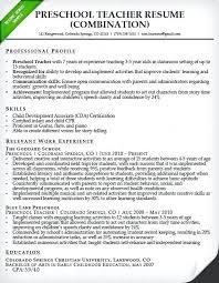 teaching assistant resume preschool resume sles preschool resume sle