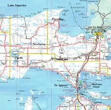 up michigan map map showing paradise michigan in the peninsula