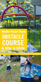 backyard obstacle course kits home outdoor decoration